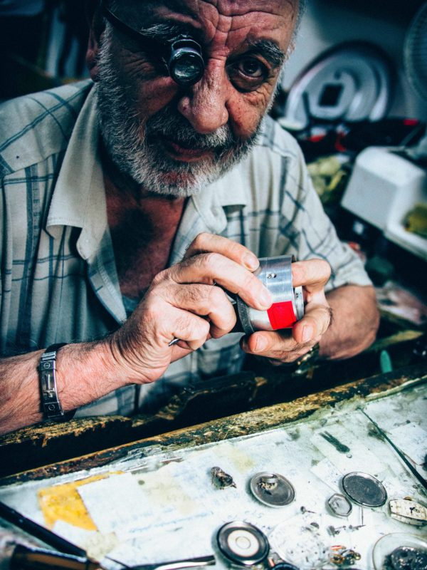 The Watchmaker by Ryan McCarrel