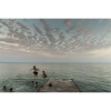 After Sunset Jump into the Black Sea - Abkhazia